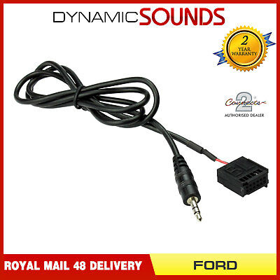 FORD Focus Mondeo C-Max S-Max Transit 6000 CD AUX In Cable for MP3 iPod iPhone