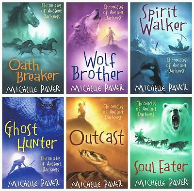 Chronicles of Ancient Darkness Collection Michelle Paver 6 Books Set - Paperback