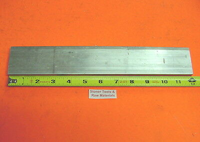 "1/4"" X 2"" ALUMINUM 6061 FLAT BAR 12"" long T6511 Solid Plate New Mill Stock .25"""