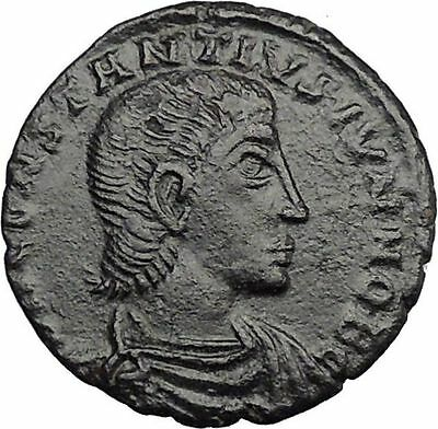 CONSTANTIUS GALLUS 351AD Roman  Ancient Coin BATTLE Horse man i32984