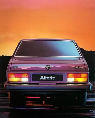 1983 Alfa Romeo Alfetta Automobile Photo Poster zc7235-EJDKTH