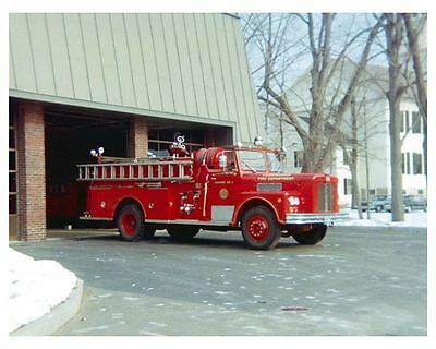 1964 Maxim Fire Truck Photo Poster zc7311-RZLCMK