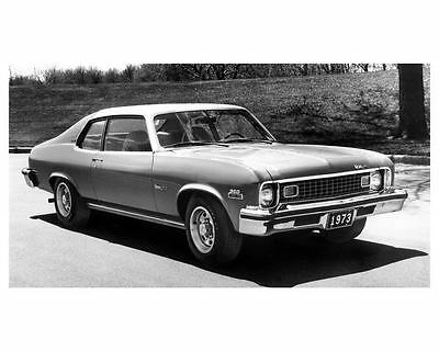 1973 Chevrolet Nova Hatchback Automobile Photo Poster zc7389-GOFHFF