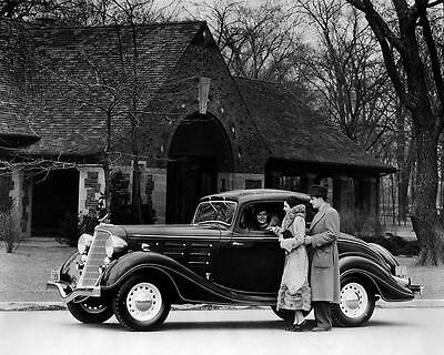 1934 Hudson Automobile Photo Poster zc7928-AOW5P9