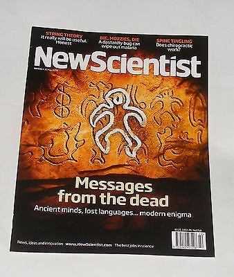 New Scientist Magazine 30Th May 2009 - Messages From The Dead/spine Tingling