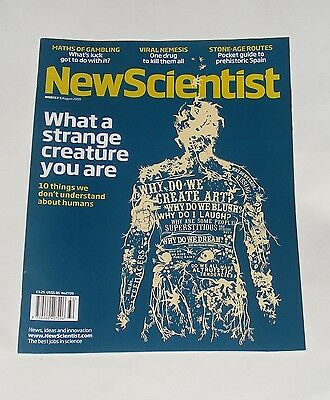 New Scientist Magazine 8Th August 2009 - What A Strange Creature You Are