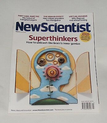 New Scientist Magazine 6Th June 2009 - Superthinkers/the Obama Effect