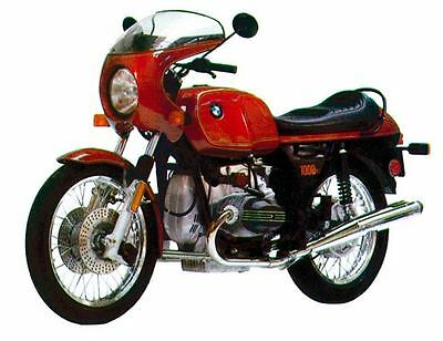 1977 BMW R100S Motorcycle Factory Photo c142-EB871S