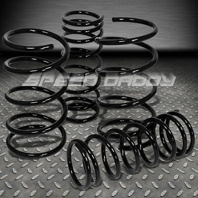 "1.5"" Drop Racing Suspension Lowering Springs/spring 03-09 Mazda 3 Bk3P Mzr Black"