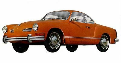 1973 Volkswagen Karmann Ghia Coupe Factory Photo c2115-8DRZZA