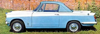 1963 Triumph Herald 1200 Coupe Factory Photo c2126-EX6KZC