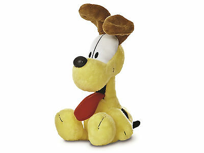 """NEW OFFICIAL 7"""" ODIE THE DOG FROM GARFIELD AURORA PLUSH CUDDLY SOFT TOY TEDDY"""