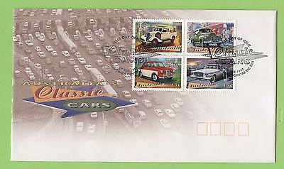 Australia 1997 Classic Cars set on First Day Cover