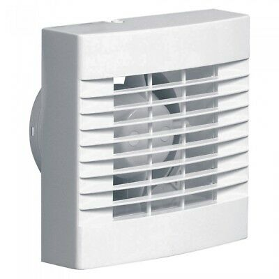 "Airvent Humidity Control Bathroom Extractor Fan 4"" 100mm - Humidistat & Pullcord"