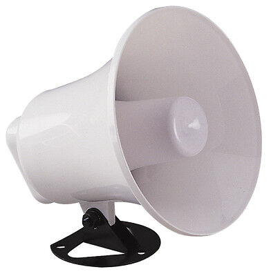 White External Waterproof PA Horn Speaker for use on CB Radio