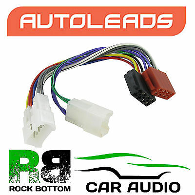 Autoleads PC2-17-4 Toyota Previa 90> Car Stereo ISO Harness Adaptor Lead Wire