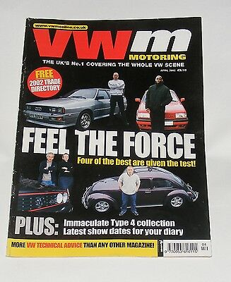 Vw Motoring April 2002 - Feel The Force