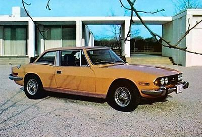 1971 Triumph Stag V8 Factory Photo c2887-QYCREY