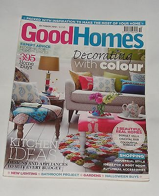 Good Homes October 2012 - Decorating With Colour/kitchen Ideas
