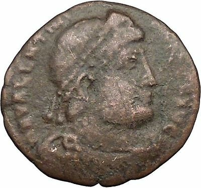 VALENTINIAN I 364AD Ancient Roman Coin Nike Victory Angel  i33131