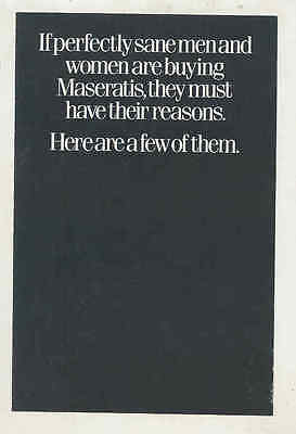 1989 Maserati 228 US Brochure mx7850