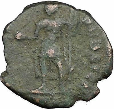 CONSTANTIUS II Constantine the Great  son w power symbol Roman Coin i33160