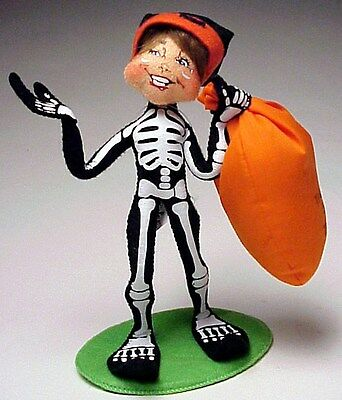 Annalee Halloween New 2013 Mobility Doll 9 inch Trick or Treat Elf, Teeth Smile