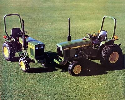 1981 John Deere 650 750 Lawn Tractor Factory Photo c3840-Q7UDAG