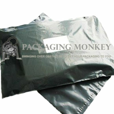 "500 x Grey Mailing Postal Postage Bags 24x36"" *PRICE REDUCTION*"