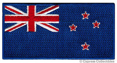 NEW ZEALAND FLAG embroidered iron-on PATCH KIWI EMBLEM APPLIQUE