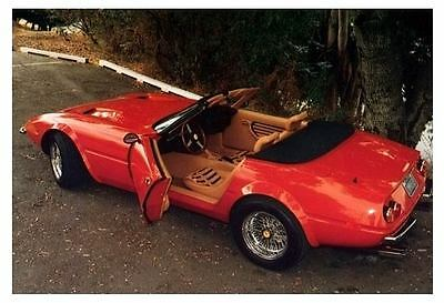 1986 Ferrari Daytona Spyder McBurnie Kit Car Photo c3993-DRHIFD
