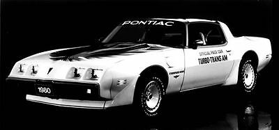 1980 Pontiac Trans Am Turbo Indy 500 Pace Car Factory Photo c4128-1UDSTN
