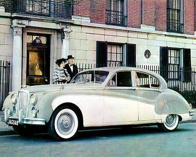 1960 Jaguar Mark IX Factory Photo c421-VZGT39