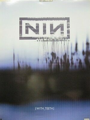 NINE INCH NAILS 2005 (with teeth) promotional poster ~NEW old stock & MINT~!!