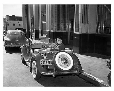 1950 MG TD Factory Photo ub3775