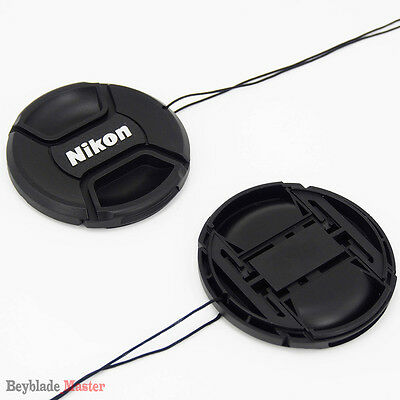 52mm Camera Snap-on Front Lens Cap cover For Nikon D40 D50 D60 D80 D90 D3000 NEW