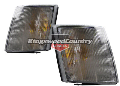 Holden Commodore VH VK NEW PAIR Clear lens Front Indicators