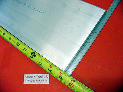 "3/8"" X 6"" ALUMINUM 6061 T6511 FLAT BAR 15"" long .375"" SOLID PLATE Mill Stock*"
