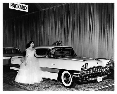 1956 Packard Caribbean Hardtop Factory Photo  c5066-R9PI6D