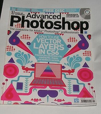 Advanced Photoshop Issue No.99 - How To Use Vector Layers In Cs6