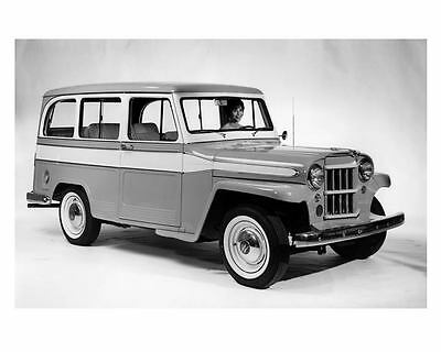1960 Willys Jeep Factory Photo  c5477-YODQGF