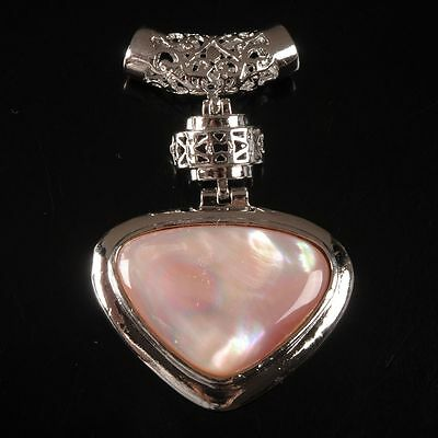 g2256 Mother of pearl MOP Pink shell pendant