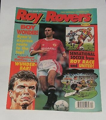Roy Of The Rovers Comic 21St March 1992