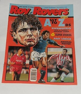 Roy Of The Rovers Comic 28Th March 1992