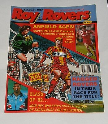 Roy Of The Rovers Comic 2Nd May 1992