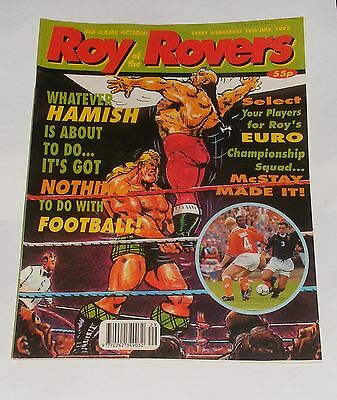 Roy Of The Rovers Comic 18Th July 1992