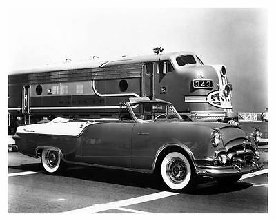 1954 Packard Caribbean Photo Santa Fe Super Chief  c5607-QCCMU4