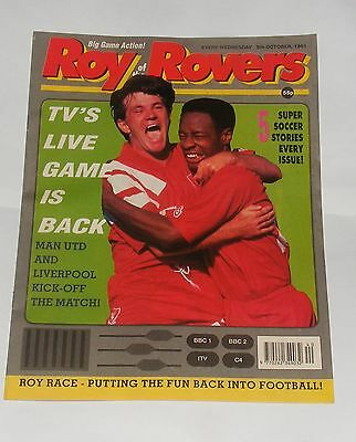 Roy Of The Rovers Comic 5Th October 1991