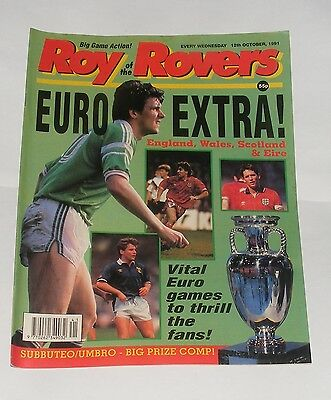 Roy Of The Rovers Comic 12Th October 1991