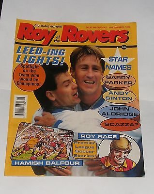 Roy Of The Rovers Comic 11Th January 1992